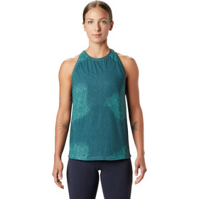 Mountain Hardwear Crater Lake Top sin Mangas Mujer, washed turquoise